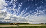 Kittyhawk and Dramatic Sky
