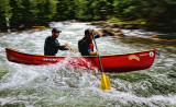 Canoeing on the Gull River