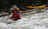 Canoeing the White Water