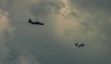 Hornet and B52