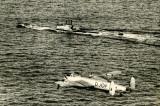 Lancaster and Submarine