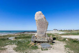 IMG_5957-Edit.jpg Menhir at Canté Beach commemorating the wreck of the Droits de l'Homme - Brittany France - © A Santillo 2014