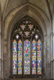 IMG_4804.jpg Stained glass window, The Hospital of St Cross, Winchester - © A Santillo 2013