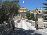 G10_0177.jpg Mdina city entrance gate (exterior view) - Mdina - © A Santillo 2009