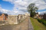 IMG_3243.jpg View of walls and Micklegate Bar - from SE - Dewsbury Terrace, York - © A Santillo 2011