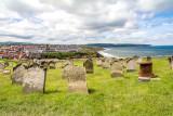 IMG_3344.jpg Gravestones St Mary's parish church graveyard - East Cliff, Whitby - © A Santillo 2011