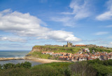IMG_3404-Edit.jpg View towards East Cliff with St Hilda's Abbey - West Cliff, Whitby - © A Santillo 2011