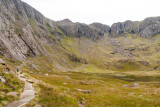 _MG_2555.jpg Path leading up the Glyder Fawr (with ascent up through 'The Devil's Kitchen' - Snowdonia  - © A Santillo 2009