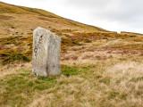 G10_0428.jpg Standing stone between Foel Lwyd and Blch y Ddeufaen - Wales - © A Santillo 2009