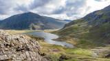 CRW_01228.jpg Llyn Idwal and Pen yr Ole Wen - Glyder Fawr, Snowdonia - © A Santillo 2004