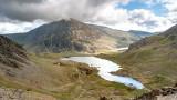 CRW_01232.jpg Llyn Idwal and Pen yr Ole Wen - Glyder Fawr, Snowdonia - © A Santillo 2004