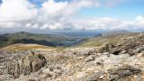 CRW_01268.jpg Top of Glyder Fawr looking towards Arfon District - Glyder Fawr, Snowdonia - © A Santillo 2004