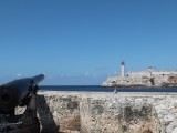 El Morro fortress (on the other shore)