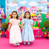 Olívia e Isabella Neves