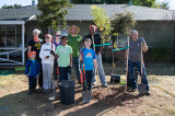 Cordova Vineyards Tree Planting Event