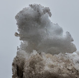 Man smoking pipe - Random snow sculptures
