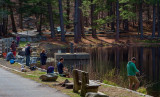 Fishing - April in Connecticut