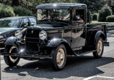 Vintage Ford V8 truck