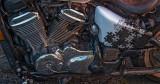 Honda motorcycle - full shot below
