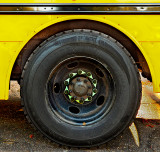 Ordinary Things - school bus wheel