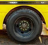 Ordinary Things - school bus wheel