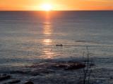 20170624_025461 Kayaker Off The Coast, Sunrise