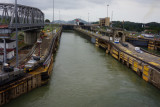 Exiting the second and last lock
