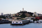 Coit tower and landing