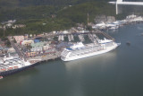 Our boat from a helicopter