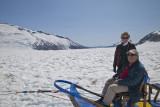 Tom and Sue on glacier