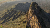 Picacho Peak from the Air