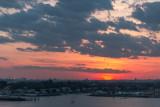 Lighting Up New York City Sunset