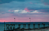 Floating Bits Of Color Sunset