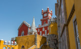 A Different View Of Pena Palace
