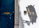 Alfama Door and Shadow