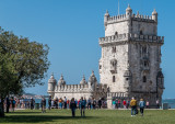Complete View of Belem Tower