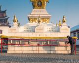Dawn Prayers, Buddhist Temple
