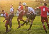 Blaenau FC at Cae Clyd football field