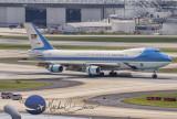USAF United States Air Force Boeing 747-2G4B (VC-25A) (82-8000)