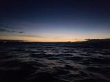 Sunrise - leaving the island