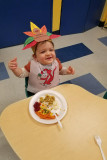 Thanksgiving lunch at school....