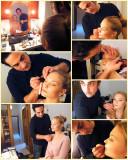 Behind the scenes with Aneliya and Francesco