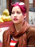 Red Velvet Hair Style in Cuba