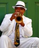 The musician,on the street corner. Old Havana,Cuba