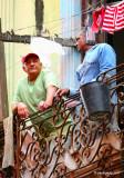 I Look Up When I Walk...Old Havana, Cuba