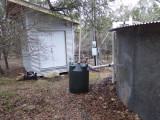 Water tank and pump house