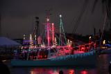 Christmas Boat Parade on Lake Pontchartrain