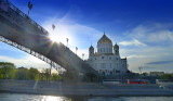 Cruising on Moscow river