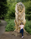 Petra and the lion