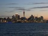 Auckland Harbour at Dusk